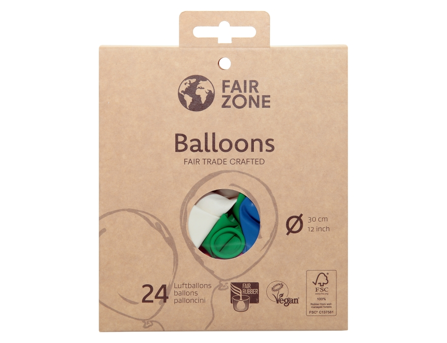 Ballonnen 30 cm 24 stuks