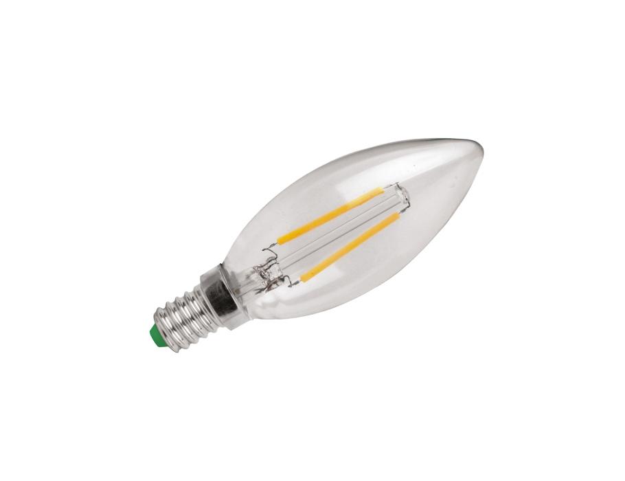 Ledlamp - E14- 250 lm - kaars - helder