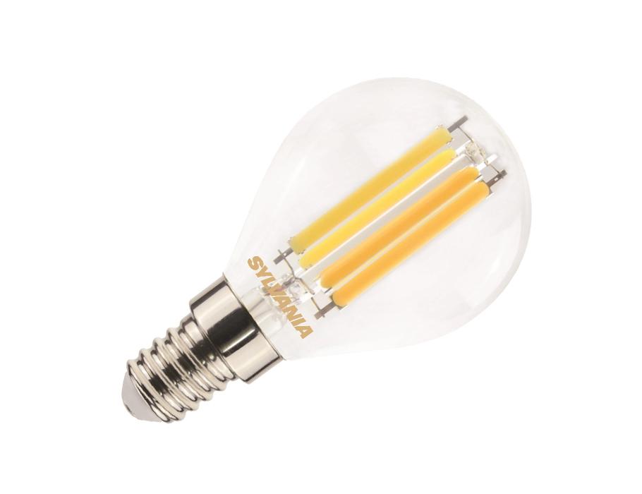 Ledlamp - E14 - 806 lm - kogel - helder