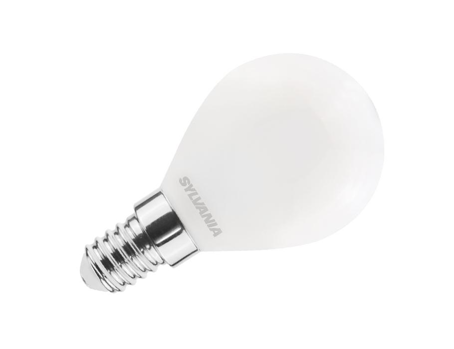 Led-Glühbirne - E14 - 806 lm - kugel - matt
