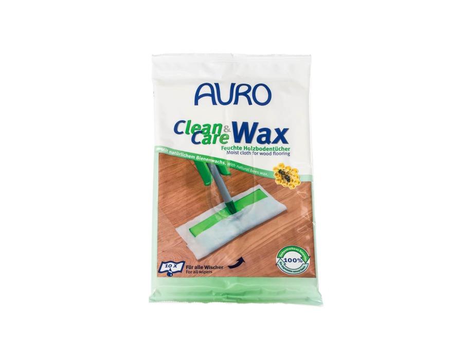 Clean & Care wax onderhoudsdoekjes vloer 10st.