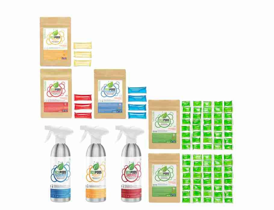 Ecopods aluminium startpakket