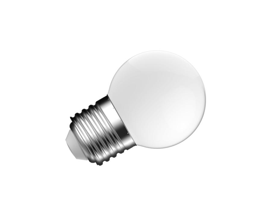 Ledlamp - E27- 250 lm - bol P45 - mat