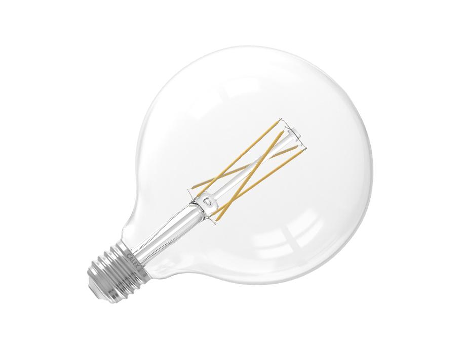 Ledlamp - E27 - 500 lm - Bol - Helder