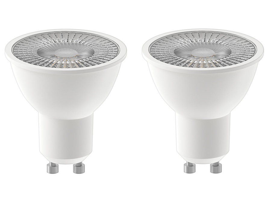 Ledlamp - GU10 - 380 lm - Reflector - Duo Pack