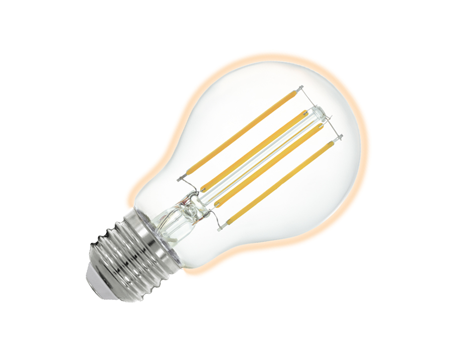 Led-lampe - E27 - 806 lm - Glühbirne - Hell - Smart