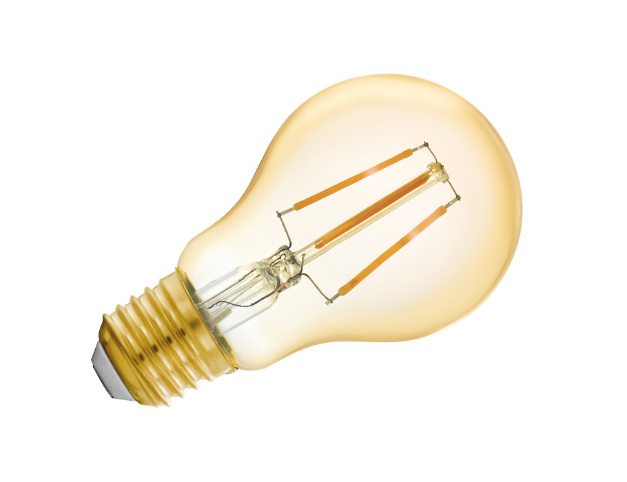 Led-lampe - E27 - 500 lm - Glühbirne - Hell - Smart
