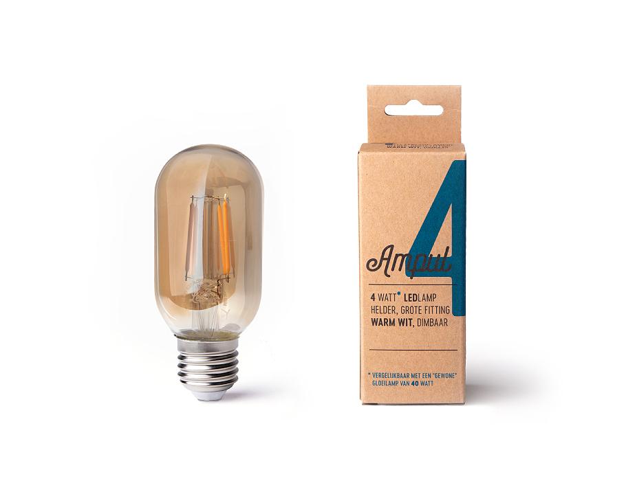 Led-Lampe - Ampel T45 - 4W - 350 Lumen - E27 - 2200K