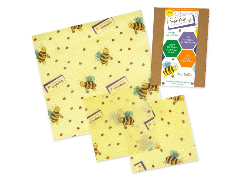 Bienenwachstücher Kids