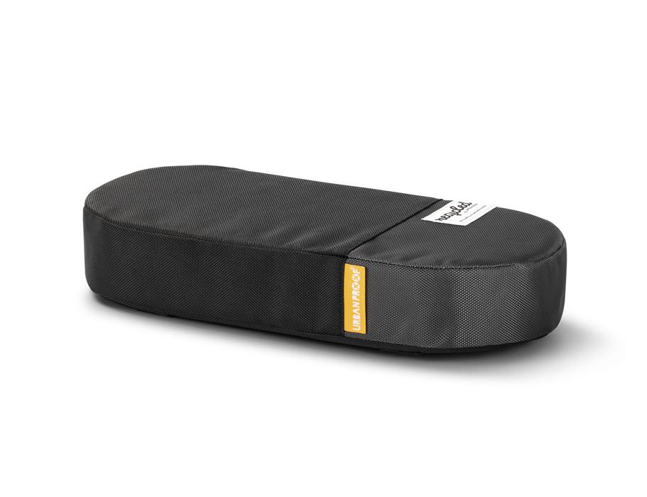 Bagagedrager kussen - black grey