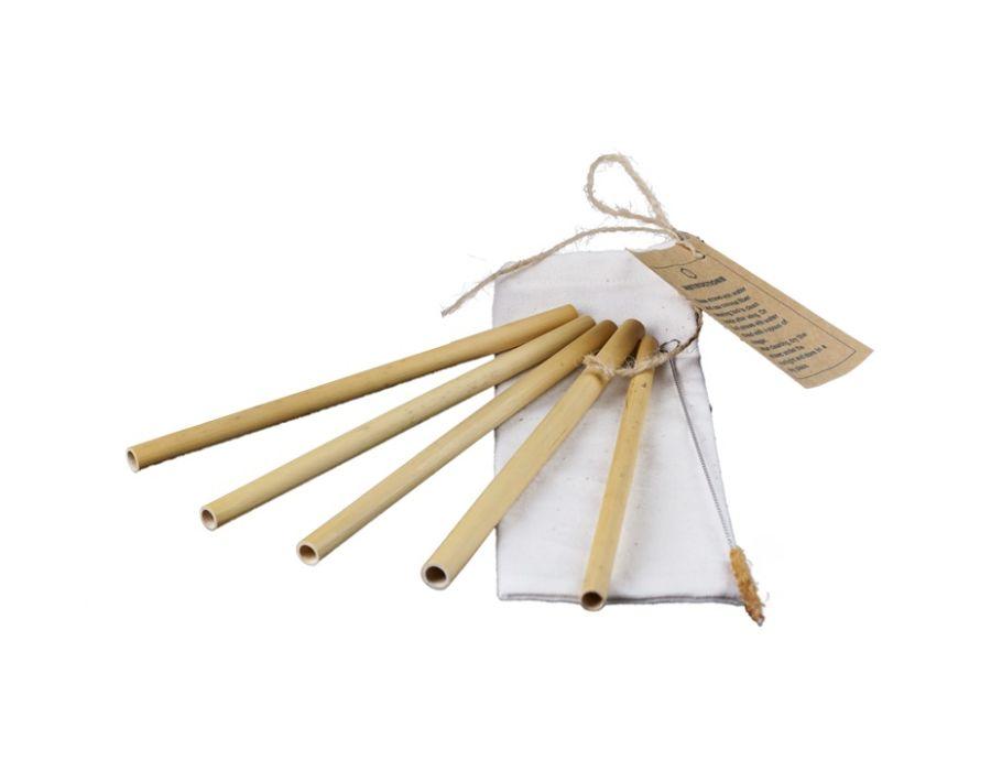 Rietjes Bamboe 5st. in zakje