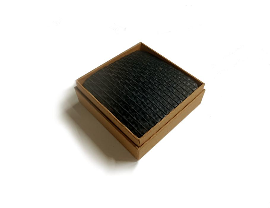 Untersetzern - Carbon Black