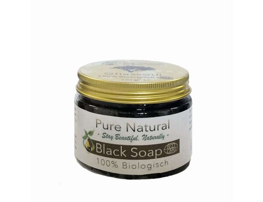 Marokkaanse Black Soap 150 gram