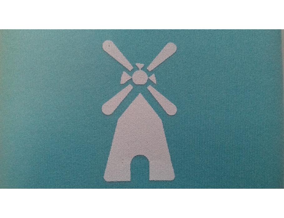 Retulp sleeve - blauwe molen