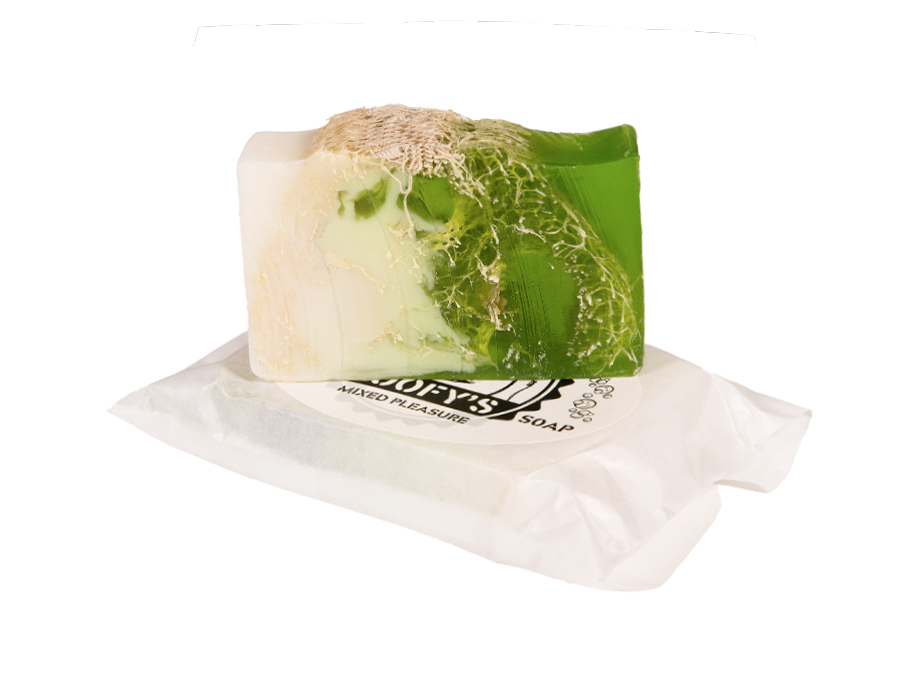 Seife mit Loofah Scrub - Mixed Pleasure - Nachfüllen