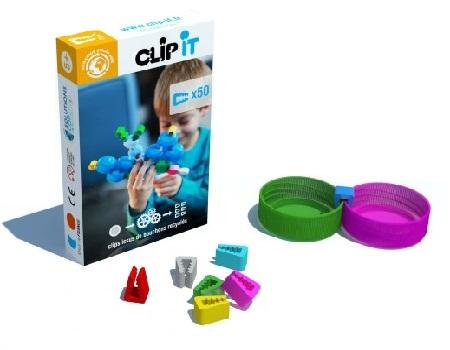 Clip-it bouwstenen - 50st