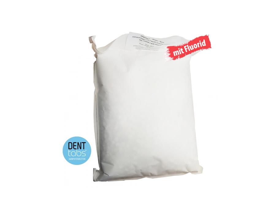 Denttabs Tandenpoets tabletten - met fluor - in bulk