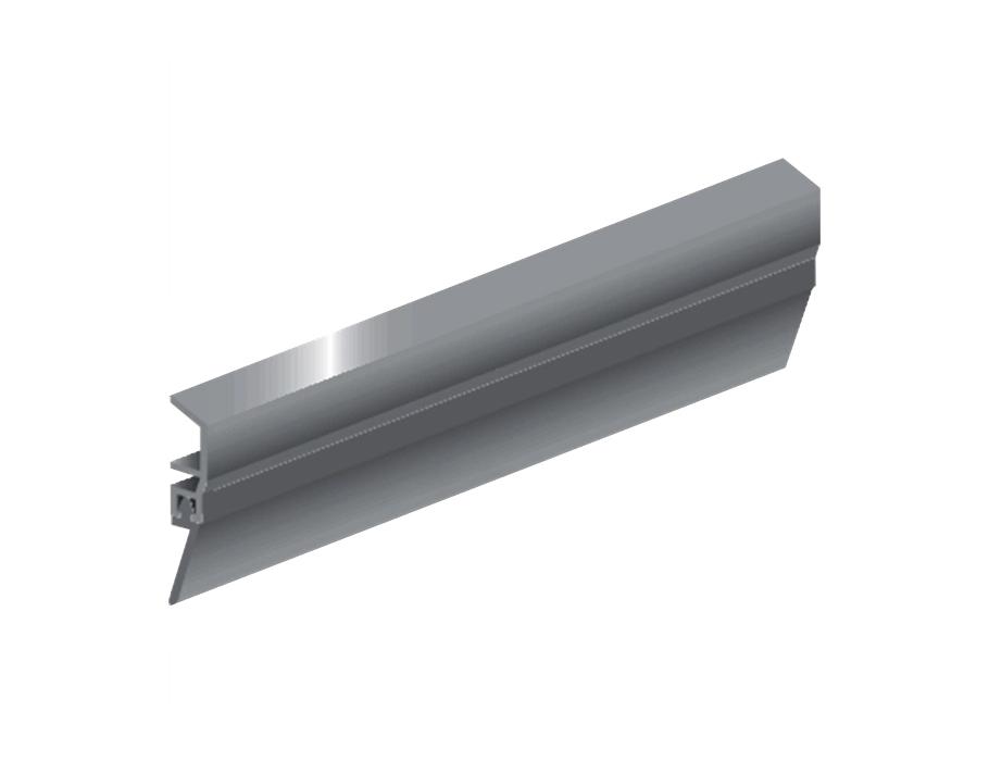 Schweller classic Vordertür Aluminium - 1m