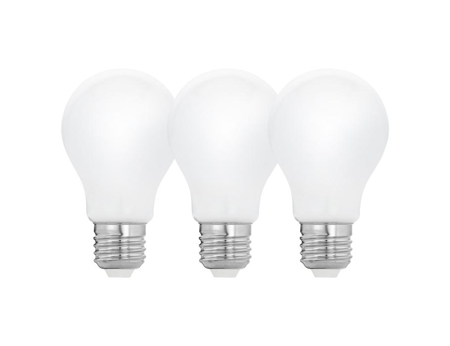 Ledlamp - 3pack - 5W - 2700K - E27 - Milky