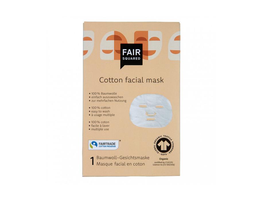 Katoenen gezichtsmasker (doekmasker)