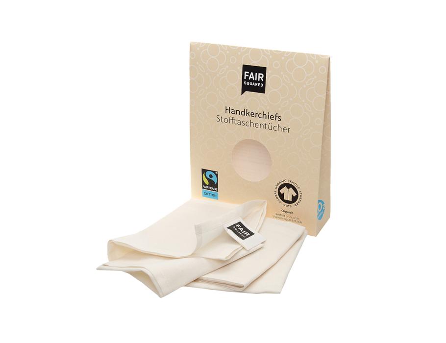 Taschentücher aus Baumwolle - 3 Stück