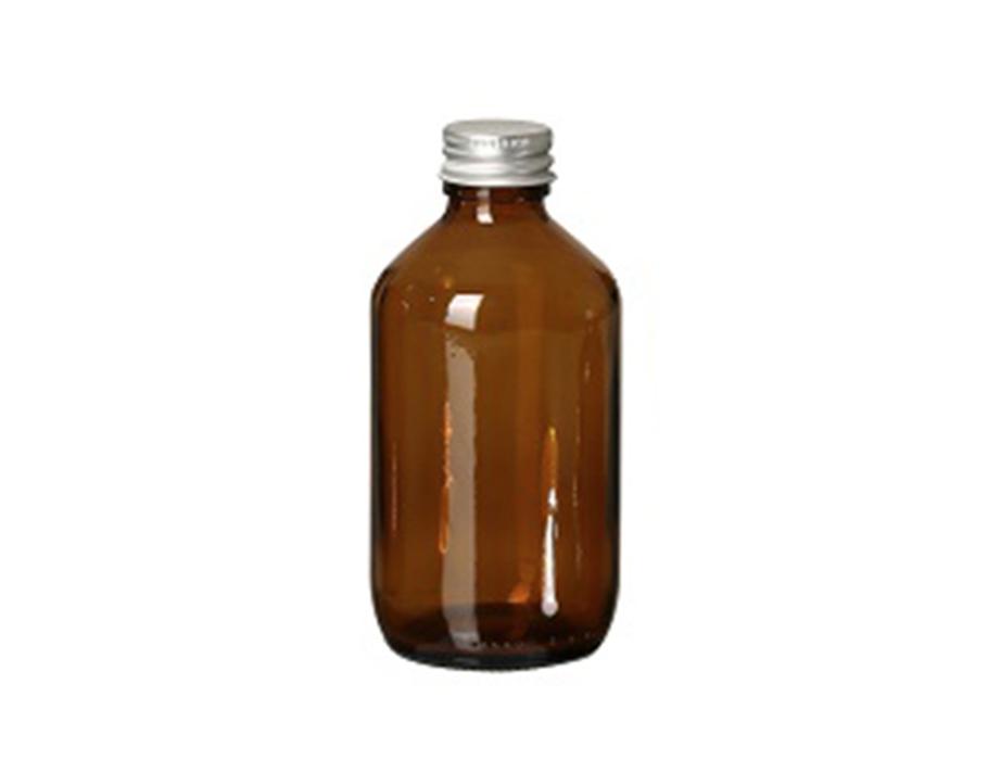 Glazen fles met dop - leeg - 250 ml