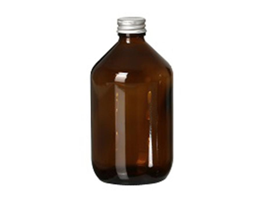 Glazen fles met dop - leeg - 500 ml