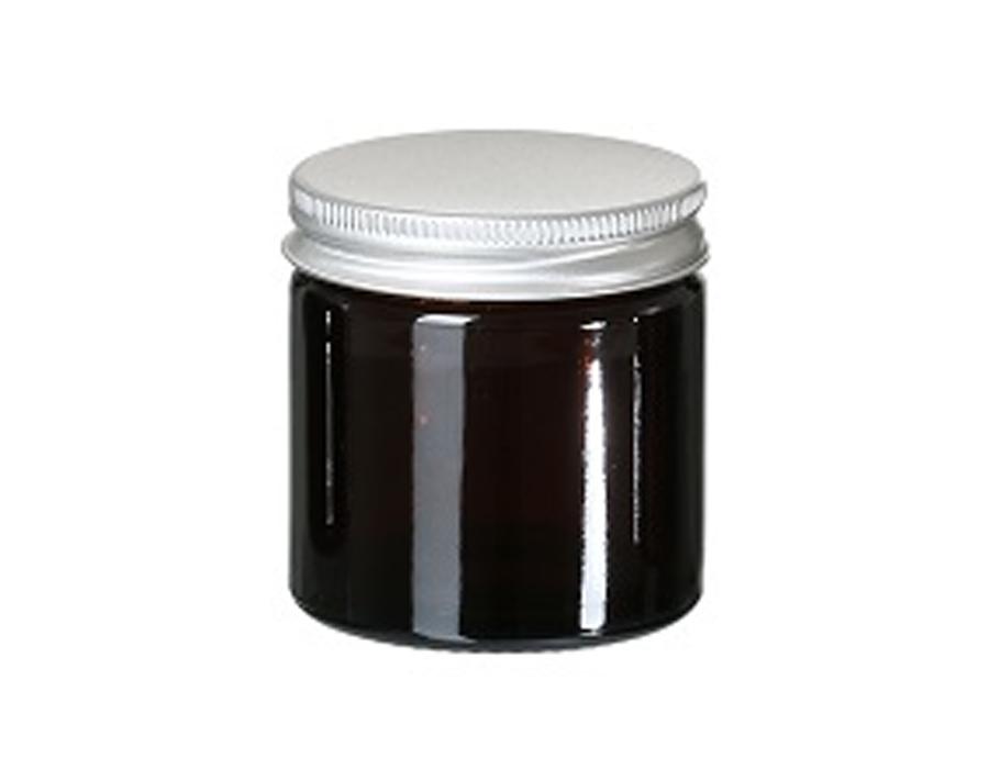 Glazen potje met deksel - leeg - 60 ml