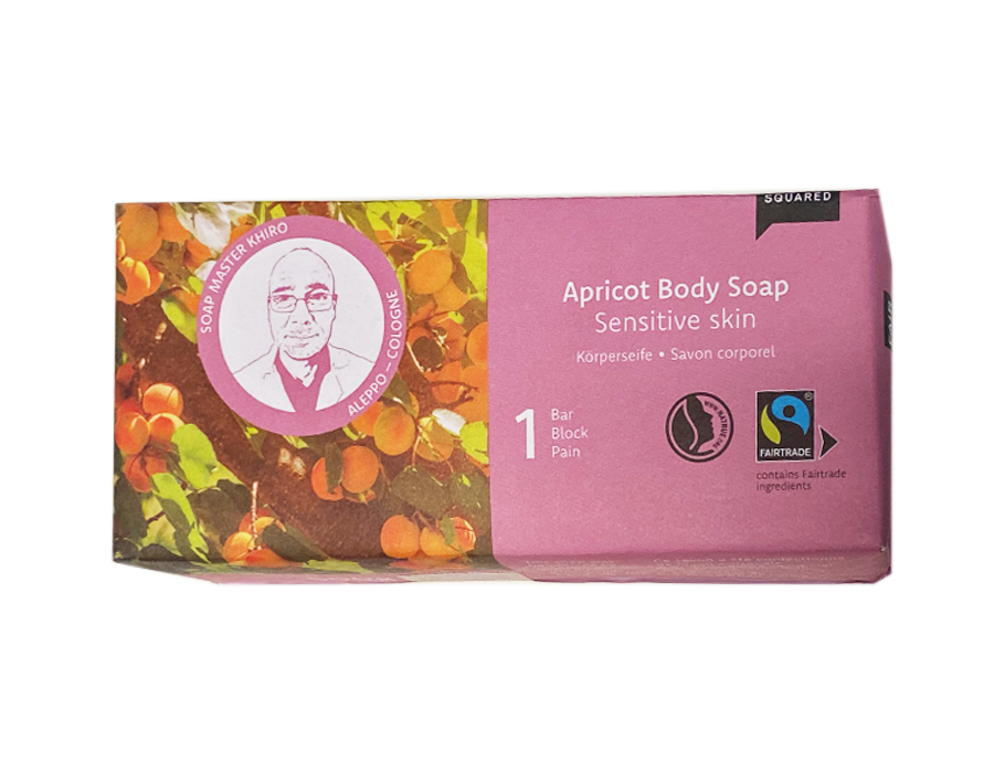 Body soap apricot - sensitive skin - 500 gr