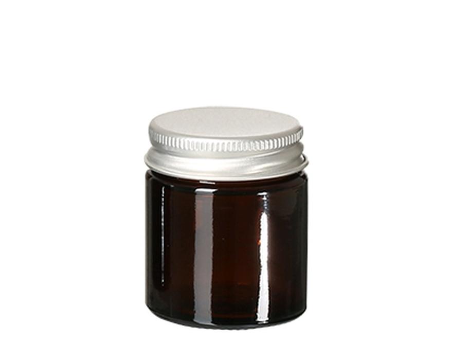 Glazen potje met deksel - leeg - 30 ml