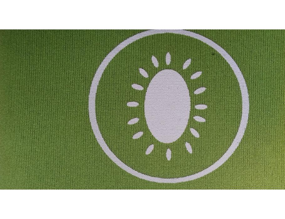 Retulp sleeve - groen kiwi