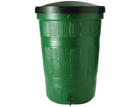 Regenton kunststof groen 200 l
