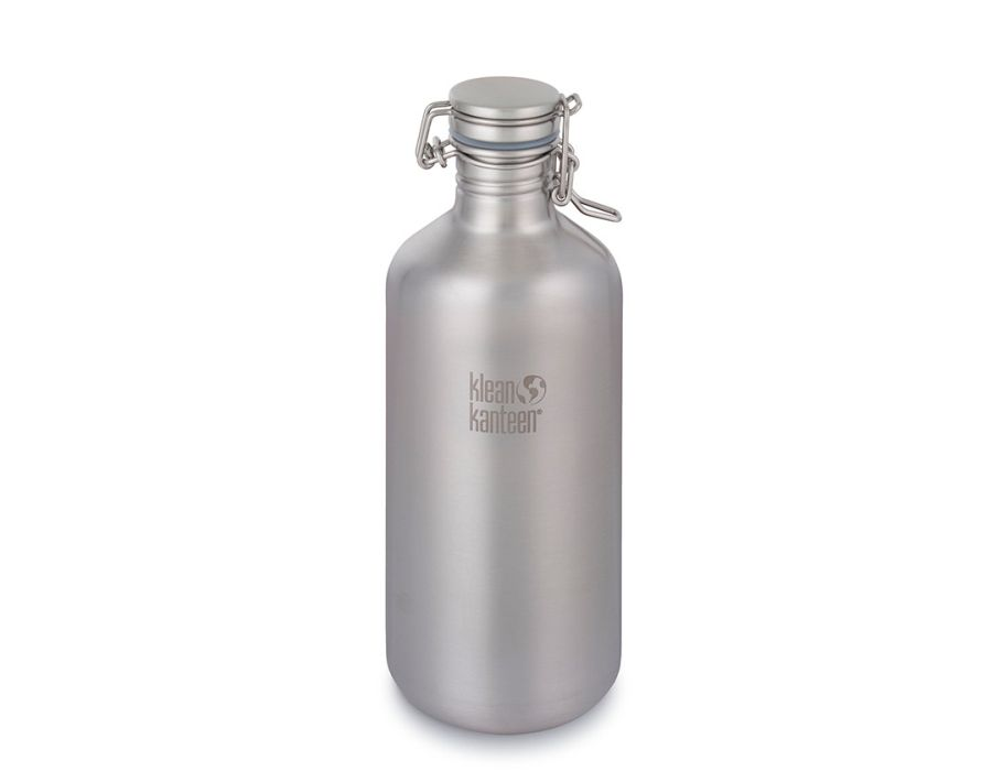 64oz Kanteen Classic (Swing Lok) - Brushed Insulated