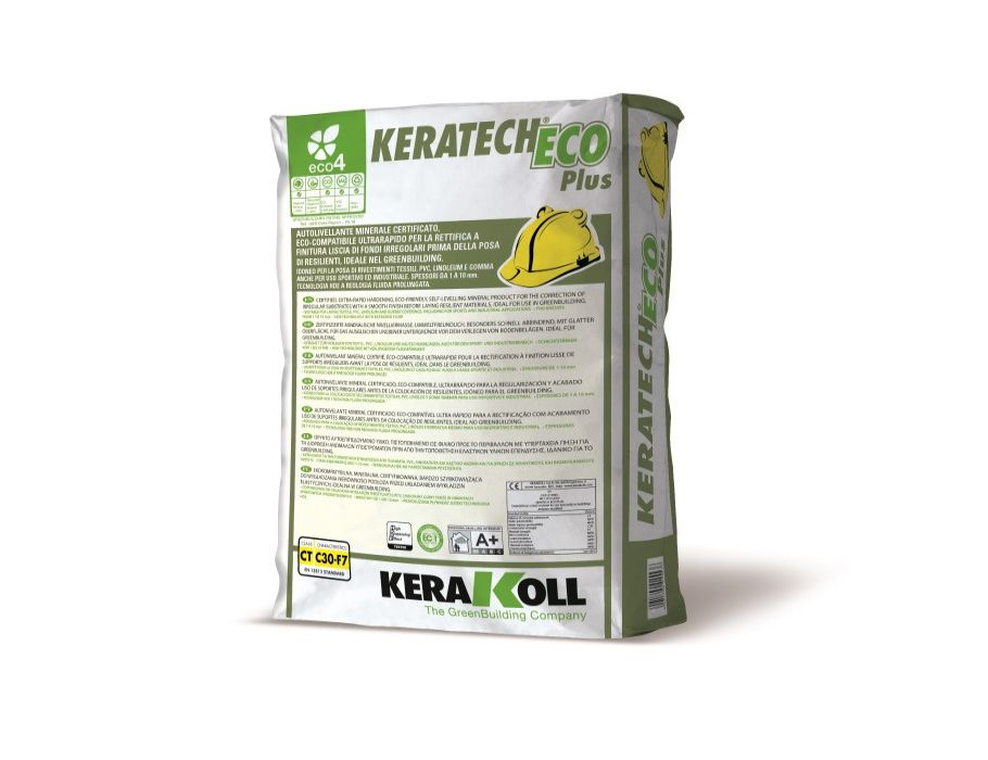Egaliseermiddel - Keratech Eco Plus premium - 25kg
