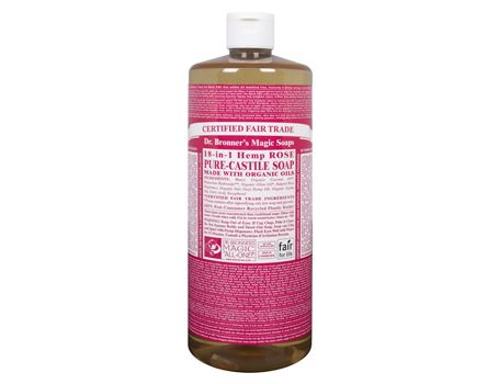 Dr. Bronner - 944 ml - Liquid Soap - Rose