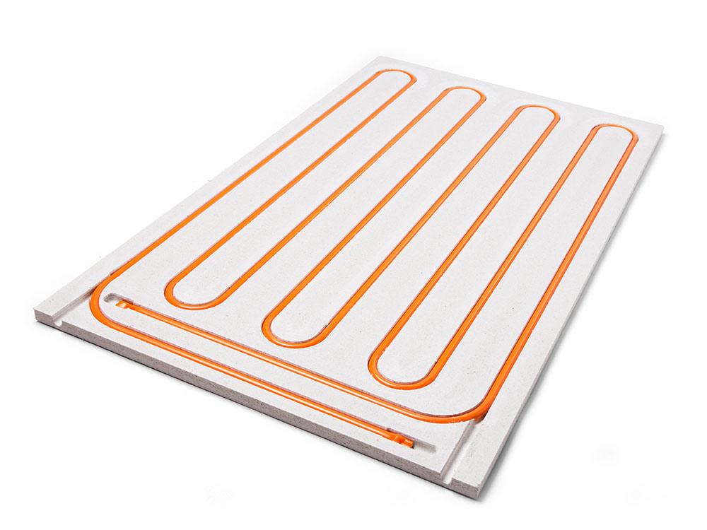 Wandverwarming - moduleplaten