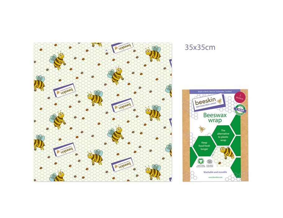 Bijenwasdoek Large - 35x35 - Kids print