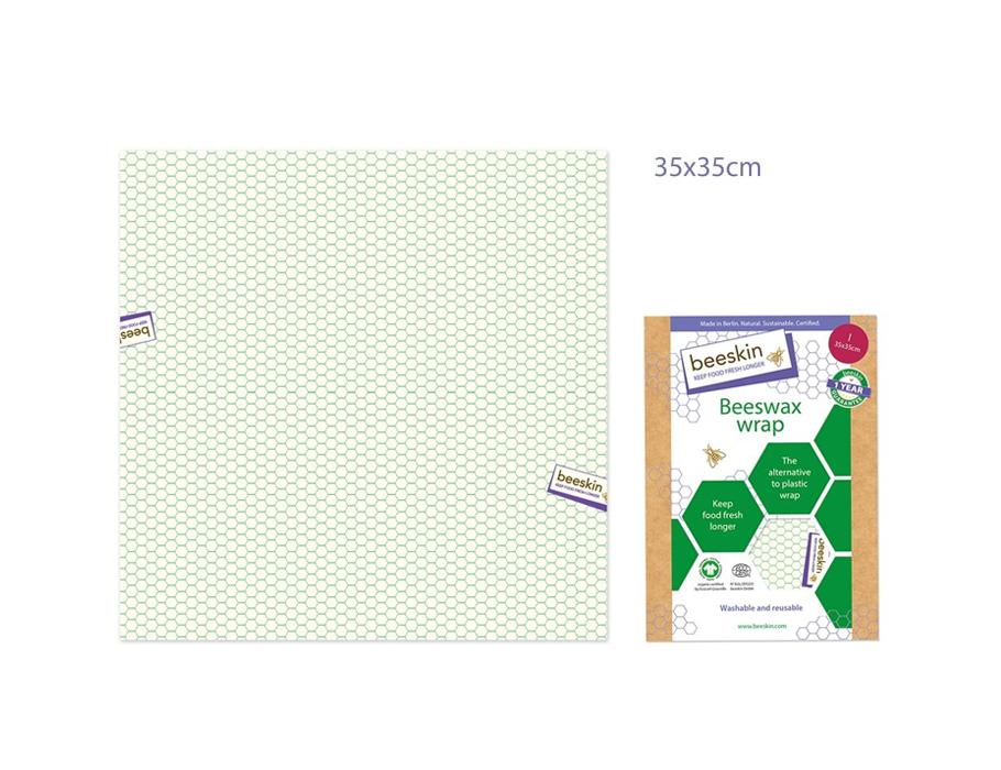 Bijenwasdoek Large - 35x35 - Standard print