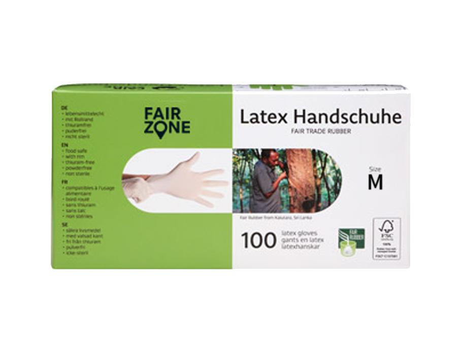 Latex handschoenen - 100 stuks