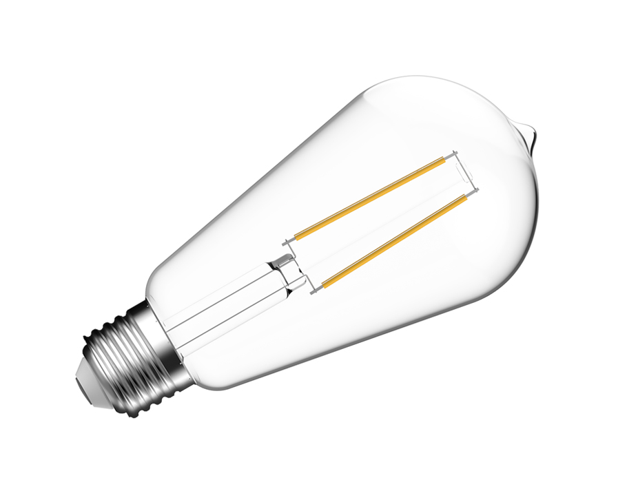 Led-Lampe - E27 - 470 lm - ST64 - hell