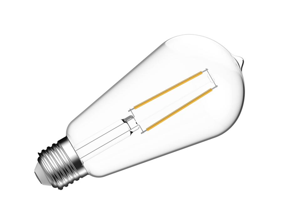 Led-Lampe - E27 - 470 lm - Glühbirne - hell