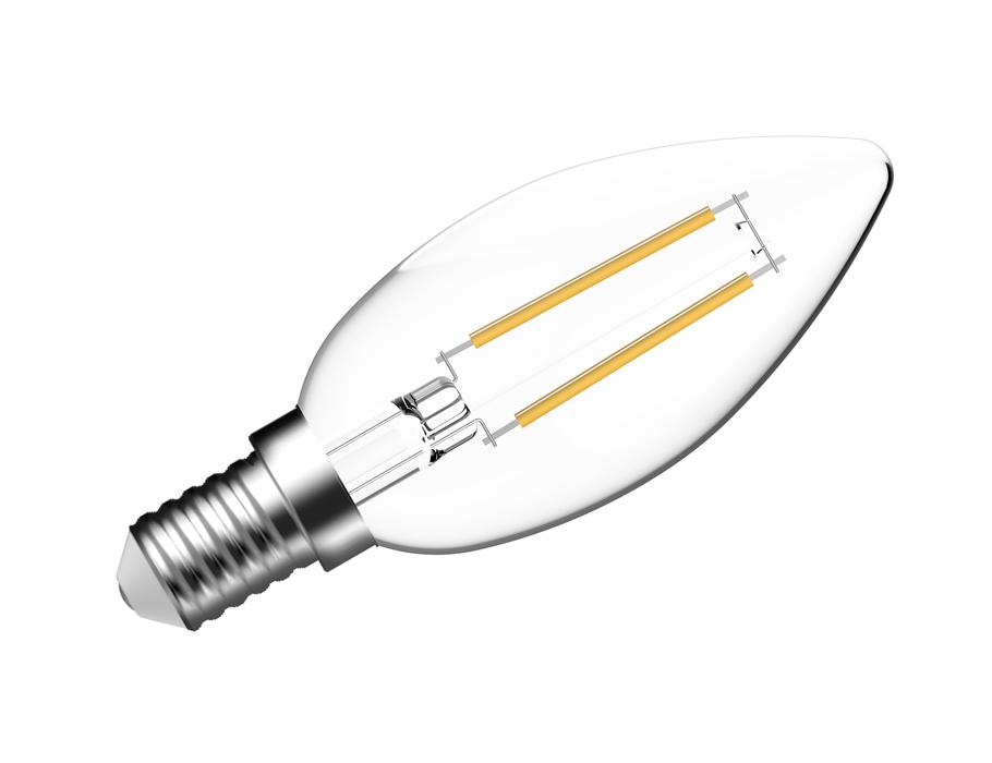Led-Lampe - E14 - 470 lm - Kerze - hell