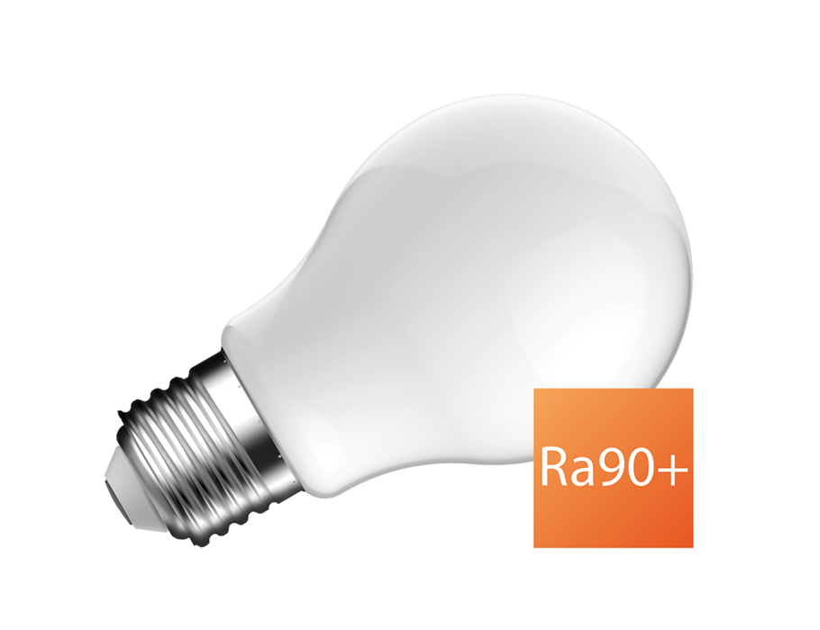 Led-Lampe - E27 - 810 lm - Glühbirne - matt