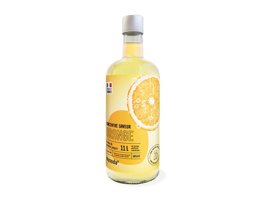Siroop voor MySoda - Orange