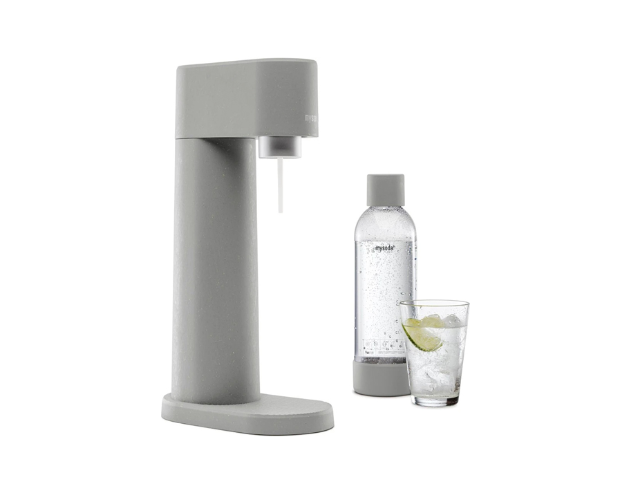 Soda maker - Woody - Grey