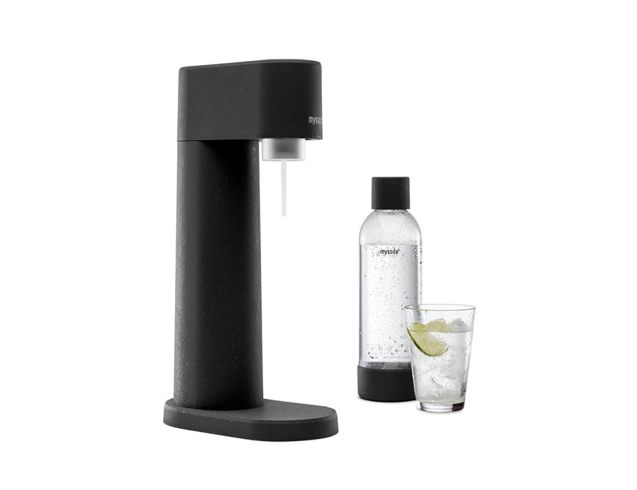Soda maker - Woody - Black