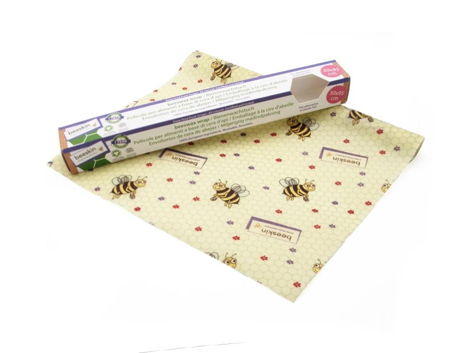 Bijenwasdoek - op de rol - 30x95 - Kids print