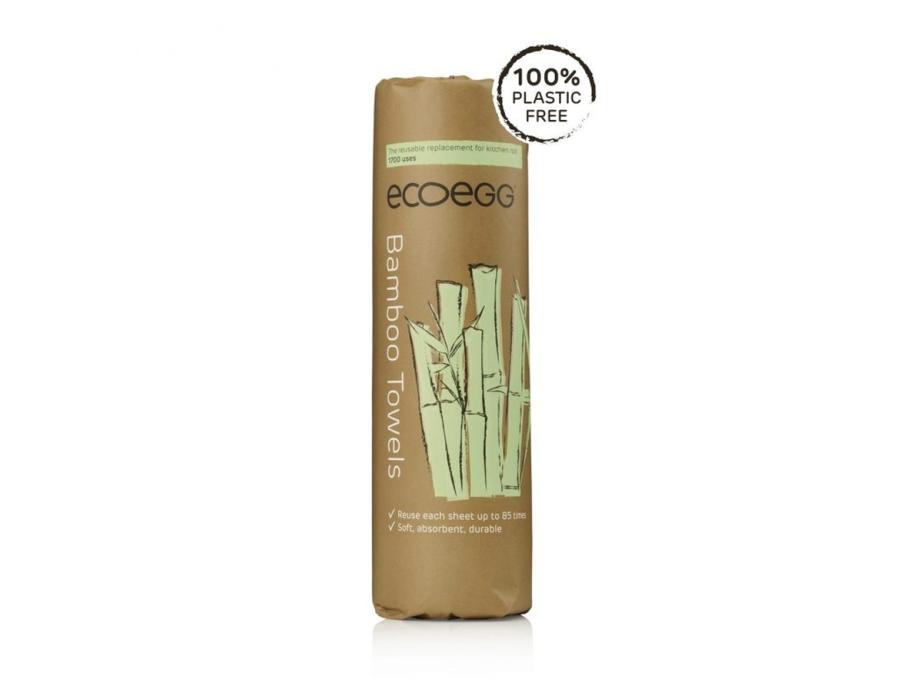Bamboo Schoonmaakdoekjes op rol