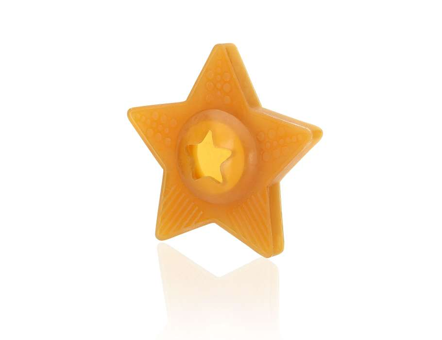 Hondenspeeltje Natuurrubber - Star Treat