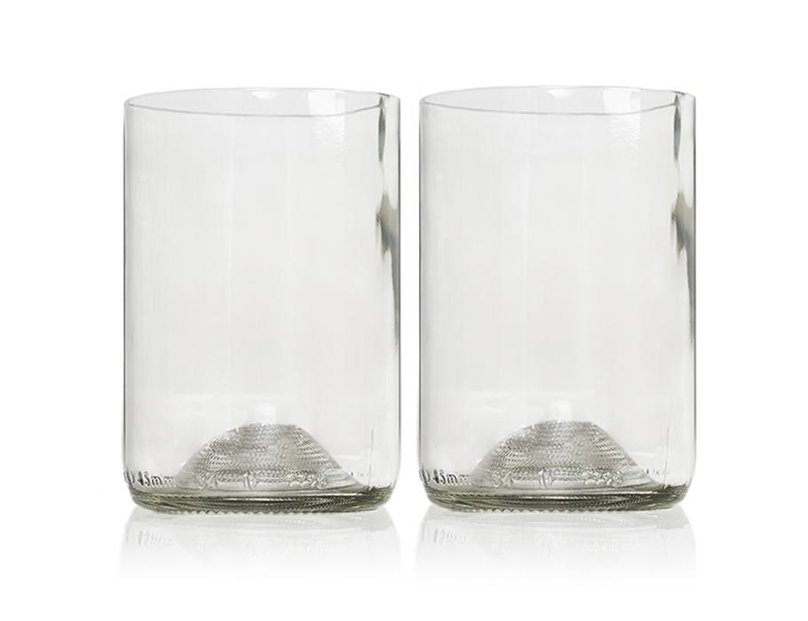 Rebottled Gläser - 2-pack - Klar